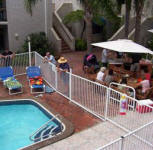 Burleigh Palms Holiday Apartments - Pool and BBQ Area
