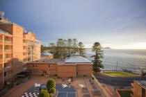 Courtyard View - Crowne Plaza Terrigal