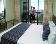 Bedroom - Meriton Pitt St Apartments