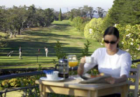 York Leura Gardens Resort - Breakfast overlooking the Golf Course
