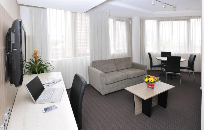 Metro Hotel Sydney Central Lounge Junior Suite